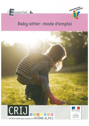 Visuel couverture Brochure Baby Sitting